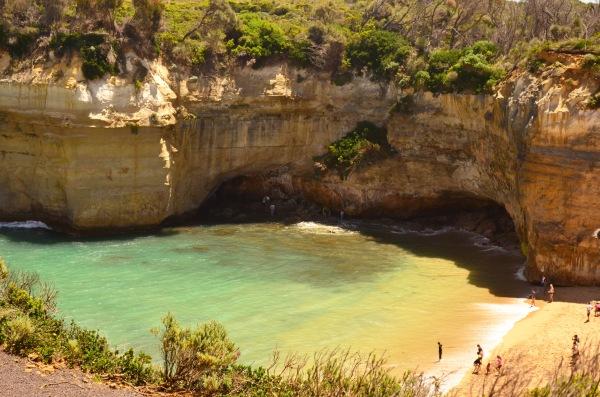 Essa é a praia onde eles foram resgatados