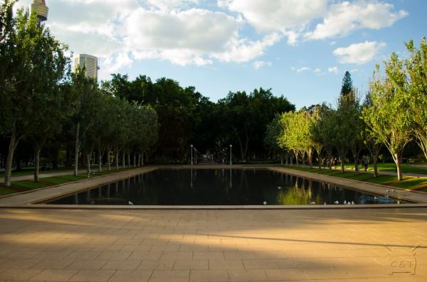 Pool of Remembrance (piscina das lembrancas)