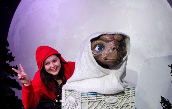 Eu e o E.T. =P